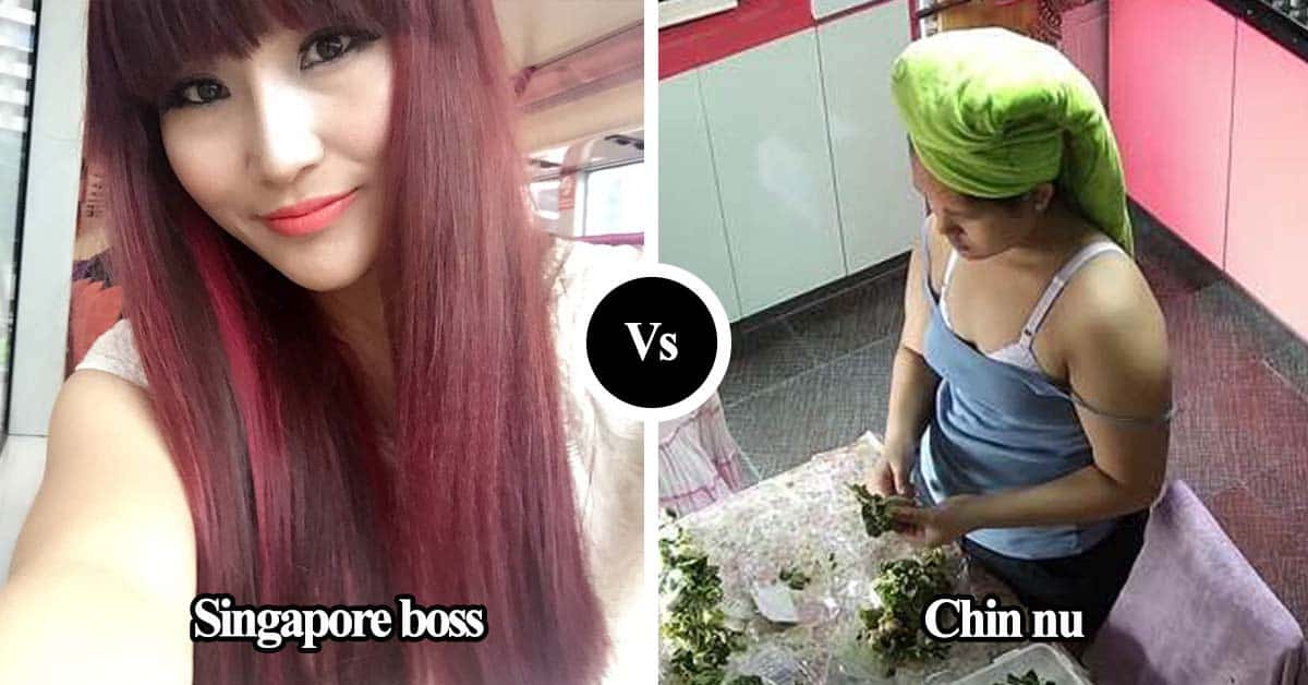 Chin nu cu a boss Singapore nu nih Facebook ah a thangchiat